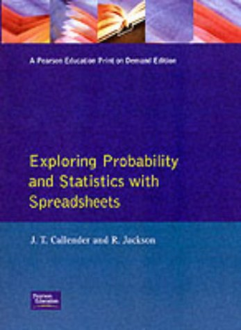9780133096590: Exploring Statistics and Probability with Spreadsheets