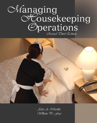 9780133097085: Managing Housekeeping Operations with Answer Sheet (Ahlei) (Ahlei - Lodging)