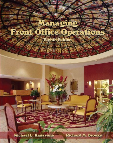 9780133097108: Managing Front Office Operations with Answer Sheet (Ahlei) (Ahlei - Front Office Operations)