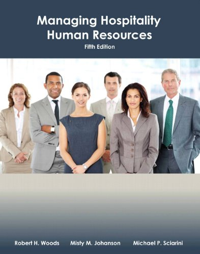 9780133097122: Managing Hospitality Human Resources with Answer Sheet (AHLEI) (5th Edition) (AHLEI - Hospitality Supervision / Human Resources)