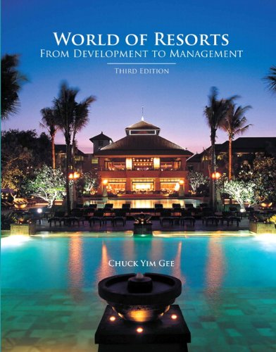 9780133097146: World of Resorts with Answer Sheet, The (AHLEI) (3rd Edition) (AHLEI - Lodging)