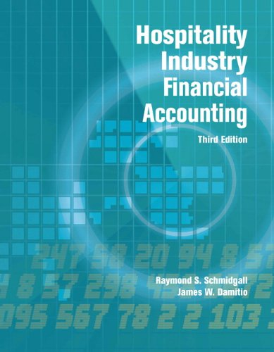 9780133097283: Hospitality Industry Financial Accounting with Answer Sheet (AHLEI) (3rd Edition) (AHLEI - Hospitality Accounting / Financial Management)