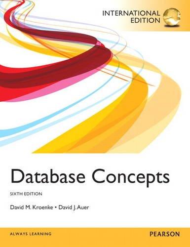 9780133098228: Database Concepts: International Edition