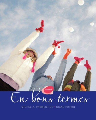 9780133098259: En bons termes, Ninth Edition with MyFrenchLab (9th Edition)