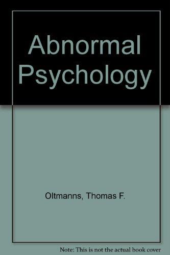 9780133098570: Abnormal Psychology