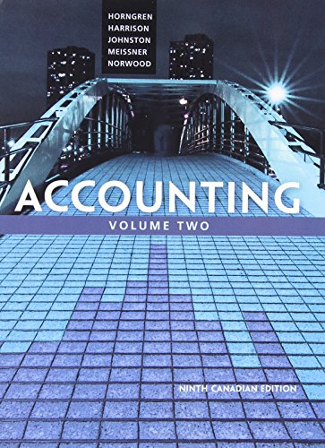 9780133098723: Accounting, Volume 2, Ninth Canadian Edition Plus MyAccountingLab with Pearson eText -- Access Card Package (9th Edition)