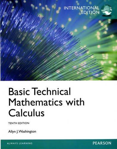 9780133099225: Basic Technical Mathematics with Calculus