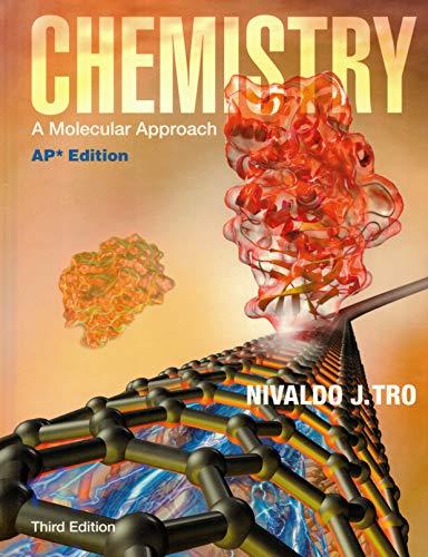 9780133099942: Chemistry a Molecular Approach 3rd Edition