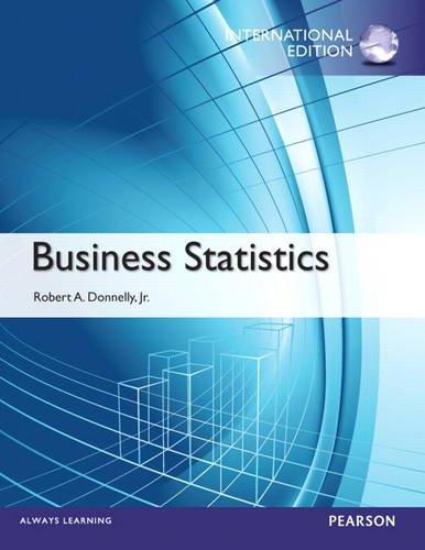 9780133100013: Business Statistics: International Edition