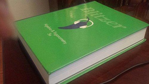 Algebra and trigonometry (5th edition) 5th edition by blitzer.