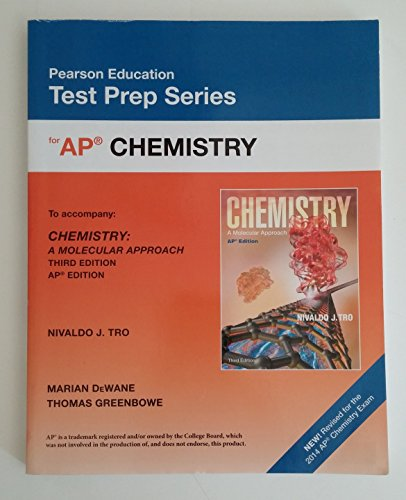 9780133101591: Pearson Education Test Prep Series for AP Chemistry