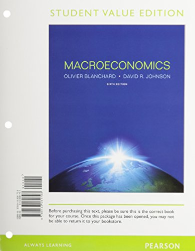 9780133103045: Student Value Edition for Macroeconomics with NEW MyEconLab with Pearson eText -- Access Card Package (6th Edition)