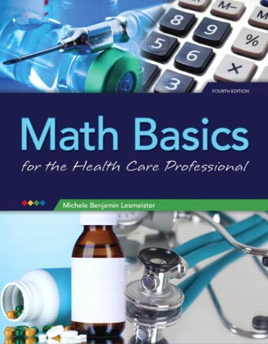 9780133104158: Math Basics for Health Care Professionals (4th Edition)