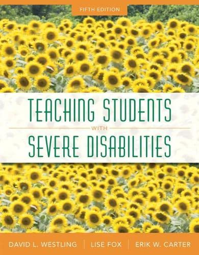 9780133104653: Teaching Students with Severe Disabilities