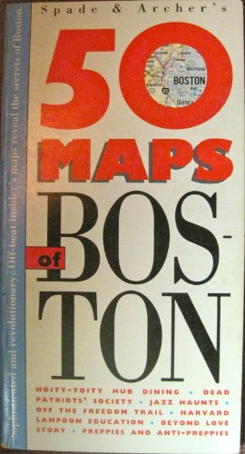 9780133105339: 50 Maps of Boston