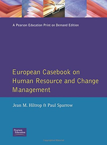9780133107722: European Casebook on Human Resource and Change Management (European Casebook Series on Management)