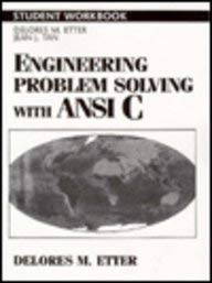 9780133108224: Engineering Problem Solving With ANSI C