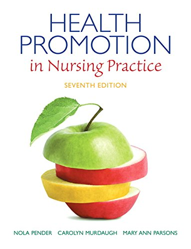 Health Promotion in Nursing Practice: Mary Ann Parsons;