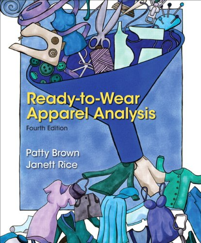Ready-to-Wear Apparel Analysis (4th Edition) (Fashion Series): Brown, Patty; Rice,