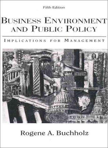 9780133110852: Business Environment and Public Policy: Implications for Management