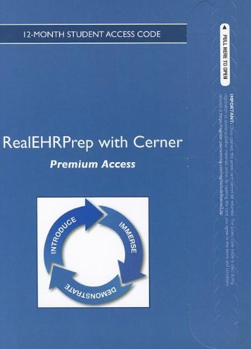 9780133112146: RealEHRPrep with Cerner: Premium -- Access Card -- (12-month access)