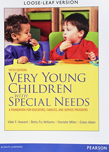 9780133112153: Very Young Children with Special Needs: A Foundation for Educators, Families, and Service Providers