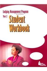 9780133112825: Lodging Management Program (LMP)  Year 2 Student Workbook, Checklist, and Scantron