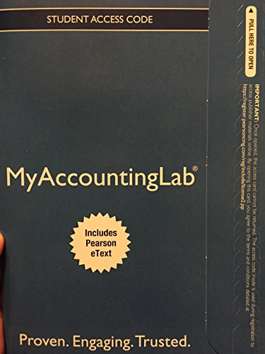 9780133113228: NEW MyAccountingLab with Pearson eText -- Access Card -- for Accounting Information Systems (12th Edition)