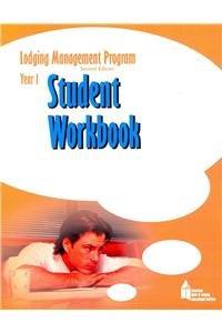 9780133113372: Lodging Management Program (LMP)  Year 1 Student Workbook, Checklist, and Scantron