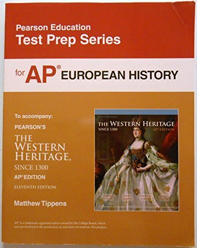 9780133114768: Test Prep for AP European History