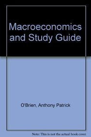 9780133114911: Macroeconomics and Study Guide