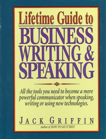 9780133116069: Lifetime Guide to Business Writing & Speaking