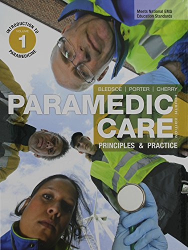 9780133120493: Paramedic Care: Principles & Practice, Volumes 1: Introduction to Paramedicine, 2: Paramedicine Fundamentals, 3: Patient Assessment. 4:Medicine, 5: ... Pearson eText -- Access Card (4th Edition)