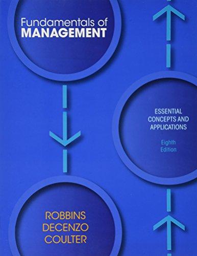 9780133120523: FUNDAMENTALS OF MANAGEMENT & SELF ASSMT PKG