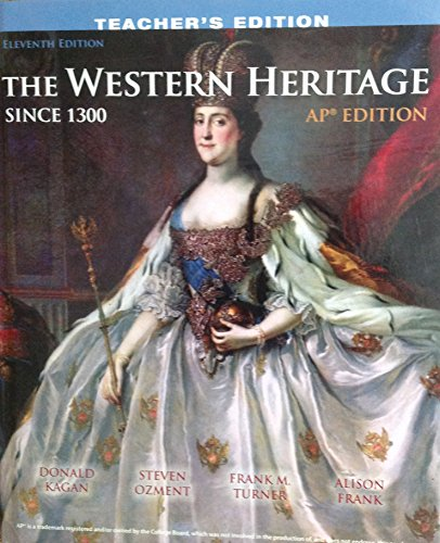 9780133125573: The Western Heritage Ap Edition Since 1300