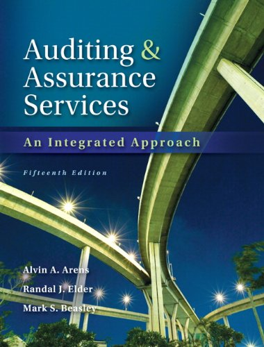 9780133125634: Auditing and Assurance Services with ACL Software CD (15th Edition)