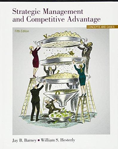 9780133127409: Strategic Management and Competitive Advantage