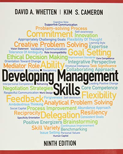 9780133127478: Developing Management Skills