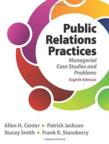 9780133127645: Public Relations Practices