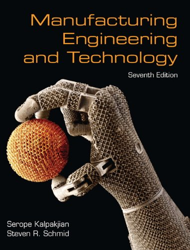 9780133128741: Manufacturing Engineering & Technology (7th Edition)