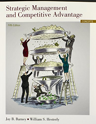 9780133129304: Strategic Management and Competitive Advantage: Concepts (5th Edition)