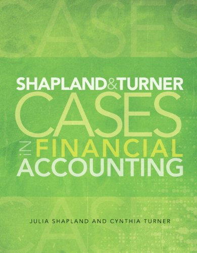 9780133129571: Shapland and Turner Cases in Financial Accounting and NEW MyAccountingLab with eText -- Access Card Package