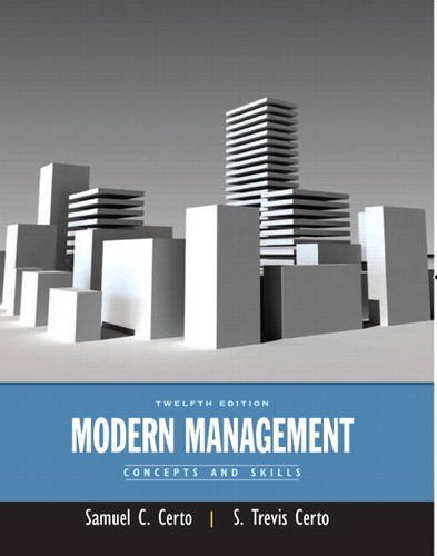 9780133130058: Modern Management: Concepts and Skills Plus New MyManagementLab with Pearson Etext
