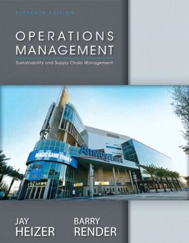 Operations Management Plus NEW MyOmLab with Pearson: Heizer, Jay; Render,