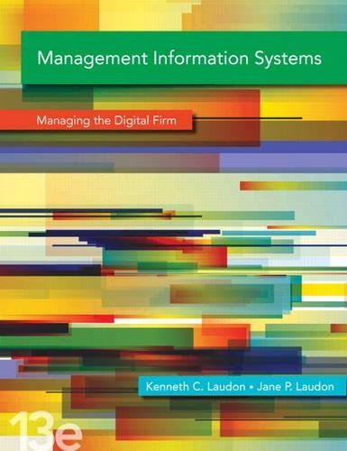 9780133130782: Management Information Systems Plus MyMISLab with Pearson eText - Access Card Package (13th Edition)
