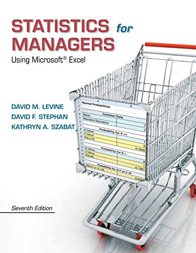 9780133130805: Statistics for Managers Using Microsoft Excel Plus NEW MyStatLab with Pearson eText  -- Access Card Package (7th Edition)