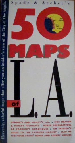 9780133132892: Spade and Archer's 50 Maps of L.A.