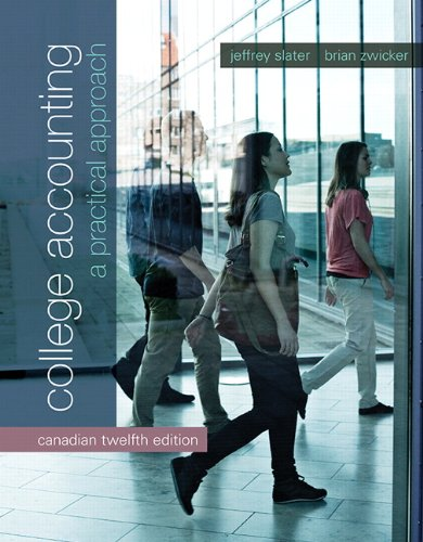 9780133133233: College Accounting: A Practical Approach, Twelfth Canadian Edition (12th Edition)