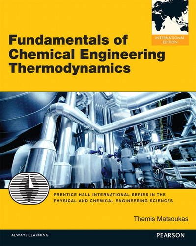 9780133134353: Fundamentals of Chemical Engineering Thermodynamics
