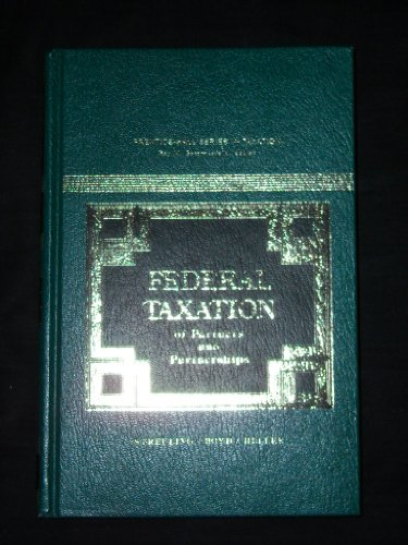 9780133134797: Federal Taxation of Partners and Partnerships (Prentice-Hall series in taxation)